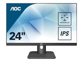 AOC 23.8 24E1Q Full HD LED-LCD Monitor, Black, 24E1Q, 36559412, Monitors