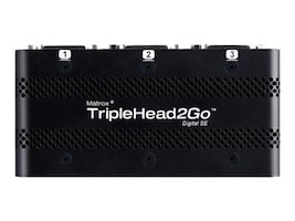 Matrox TripleHead2Go Digital SE External Multi-Display Adapter, T2G-DP3D-IF, 15262433, Video Extenders & Splitters
