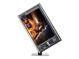 AOC 31.5 U3277PWQU 4K Ultra HD LED-LCD Monitor, Black Silver, U3277PWQU, 35878041, Monitors