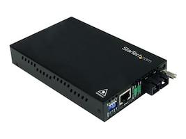 StarTech.com 10 100Mbps Multimode Fiber Media Converter, SC, 2km, ET90110SC2, 14286345, Network Extenders