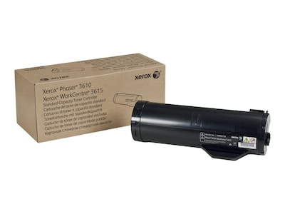 Xerox Black Standard Capacity Toner Cartridge for 3610 3615, 106R02720, 31198558, Toner and Imaging Components - OEM