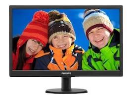Philips 19.5 203V5LSB2 LED-LCD Monitor, 203V5LSB2, 35382133, Monitors