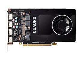 PNY NVIDIA Quadro P2200 PCIe 3.0 x16 Graphics Card, 5GB GDDR5X, VCQP2200-SB, 37209473, Graphics/Video Accelerators