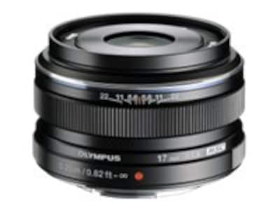 Olympus M.ZUIKO Digital 17mm f 1.8 Lens, Black, V311050BU000, 15751966, Camera & Camcorder Lenses & Filters