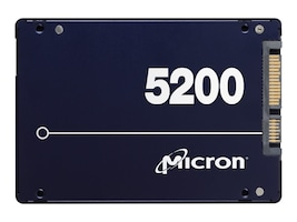 Micron 480GB 5200 ECO SATA 6Gb s SED TCG eSSC 2.5 7mm Internal Solid State Drive, MTFDDAK480TDC-1AT16ABYY, 35103915, Solid State Drives - Internal