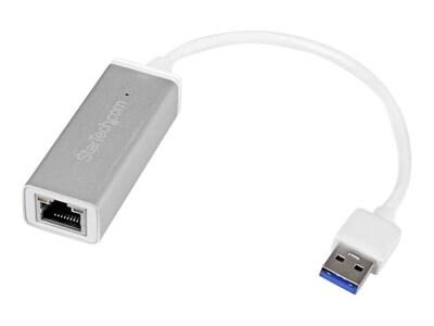 StarTech.com USB 3.0 GbE Adapter (Silver), USB31000SA, 28666921, Network Adapters & NICs