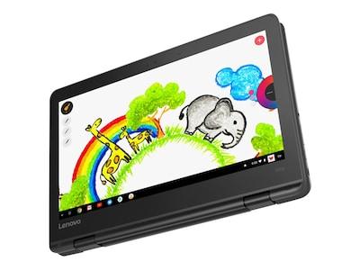 Lenovo 300e Chromebook MT 8173C 2.1GHz 4GB 32GB eMMC ac BT WC 11.6 HD MT Chrome OS, 81H00000US, 35045858, Notebooks - Convertible