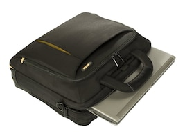 Targus Meridian Topload NB Case Poly for 15.6, Black, TST031US, 16950529, Carrying Cases - Notebook