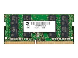 HP 16GB PC4-21300 260-pin DDR4 SDRAM SODIMM for Select ZBooks, EliteBooks, 4VN07UT#ABA, 36205075, Memory