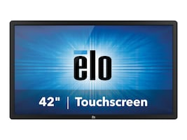 ELO Touch Solutions 42 4202L Full HD LED-LCD Infrared Touchscreen Display, Black, E222369, 32107849, Monitors - Large Format - Touchscreen