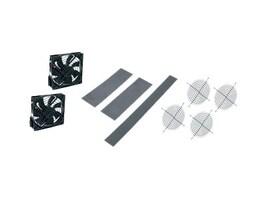 Middle Atlantic Fan Kit, DWR 26 D 2x6 Fans 4xGuards, Black, DWR-FK6-26, 34222648, Cooling Systems/Fans