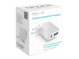 TP-LINK TL-WR710N Main Image from Left-angle