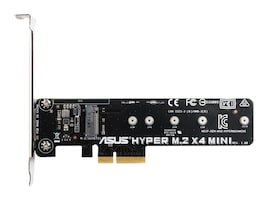 Asus Hyper M.2 X4 Mini Card for PCIe Slot, HYPER M.2X4 MINI, 31142431, Motherboard Expansion