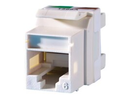 Ortronics Cat5e Keystone Jack, Green, KS6A-45, 33743839, Premise Wiring Equipment