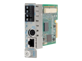 Omnitron Systems Technology 8903N-2W Main Image from Left-angle