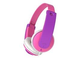 JVC TinyPhones Volume Limiting Child Over Ear Headphones - Yellow, HAKD7P, 34041011, Headphones
