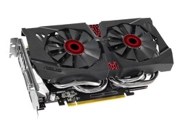 Asus GeForce GTX 960 PCIe 3.0 Overclocked Graphics Card, 4GB GDDR5, STRIXGTX960DC2OC4GD5, 20592891, Graphics/Video Accelerators