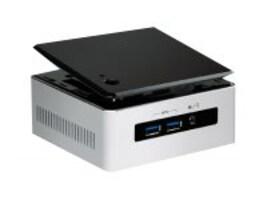 Intel Barebones, NUC Kit NUC5i5MYHE UCFF Core i5-5300U 2.3GHz Max.16GB DDR3L 1x2.5 Bay M.2 GbE, BLKNUC5I5MYHE, 18358668, Barebones Systems