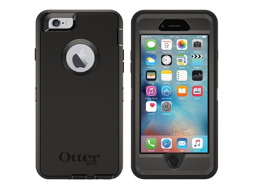 outlet store a73d4 1c6db OtterBox Defender Series Pro Pack for iPhone 6 6s, Black (77-52829)