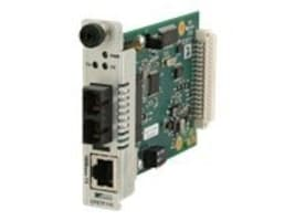 Transition 100BTX 100BFX Converter Card-1300NM MM ST 2KM, CFETF1011-110, 9486810, Network Transceivers