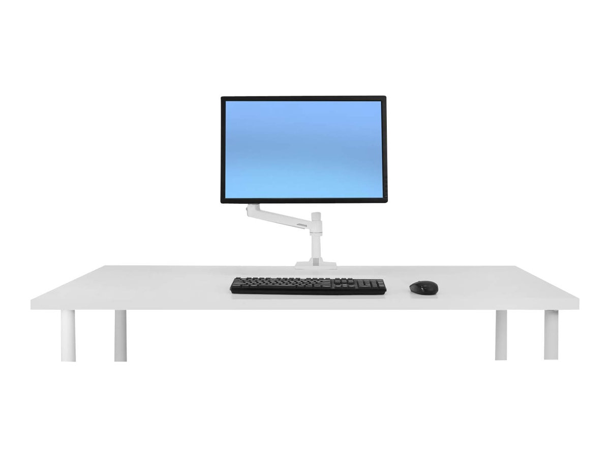 Ergotron LX Desk Mount LCD Monitor Arm, White