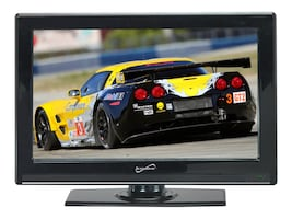 Supersonic 22 SC-2211 Full HD LED-LCD TV, Black, SC-2211, 34612398, Televisions - Consumer