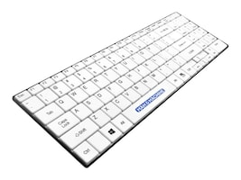 Man & Machine Itscool Keyboard Open Style, Washable, Value Keyboard, White, ITSC/W5, 23308075, Keyboards & Keypads