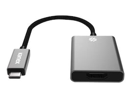 Kanex USB-C to HDMI 4K Adapter, Space Gray, K181-1155-SG4I, 34014646, Adapters & Port Converters