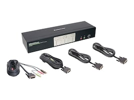 IOGEAR KVM 2-Port Dual View Dual Link DVI KVMP Switch with Audio, GCS1642, 12361444, KVM Switches