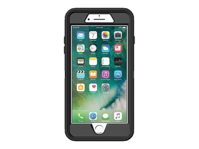 the latest 0812e d299a OtterBox Defender Series Case for iPhone 7 Plus 8 Plus, Black