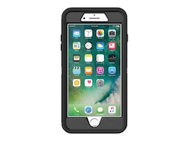 OtterBox Defender Series Case for iPhone 7 Plus 8 Plus, Black, 77-56825, 36298081, Carrying Cases - Phones/PDAs