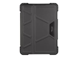 Targus PRO-TEK ROTATING CASE 11IN IPAD PRO BLK, THZ743GL, 36342310, Carrying Cases - Other