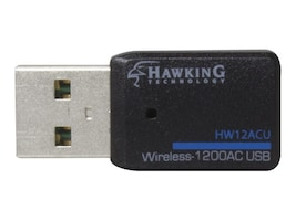 Hawking Wireless-1200AC Dual-Band USB Adapter, HW12ACU, 34932922, Wireless Adapters & NICs