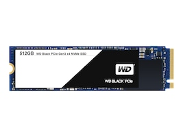 WD 512GB WD Black PCIe NVMe M.2 2280 Internal Solid State Drive, WDS512G1X0C, 33596058, Solid State Drives - Internal