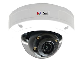 Acti 5MP Outdoor Day Night Adaptive IR Advanced WDR Mini Dome Camera with 2.8mm Lens, A94, 35913889, Cameras - Security