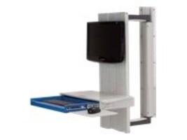 Capsa A36 Tandem Arm, Premium, Integrated Tech Box, FG9A36TDPTB, 12880797, Computer Carts - Medical