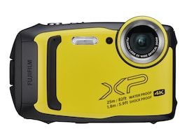 Fujifilm FinePix XP140 Digital Camera, Yellow, 600020657, 37170126, Cameras - Digital