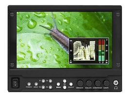 Marshall Electronics 7 On-Camera Monitor with HDMI and Modular SDI, V-LCD70MD, 18127886, Monitors