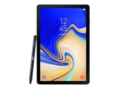 Samsung Galaxy Tab S4 Octa-Core 1.9GHz 4GB 256GB Flash ac BT 2xWC 10.5 WQXGA MT Android O Black, SM-T830NZKLXAR, 36020177, Tablets