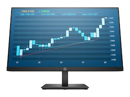HP 23.8 P244 Full HD LED-LCD Monitor, Black, 5QG35A8#ABA, 36945903, Monitors