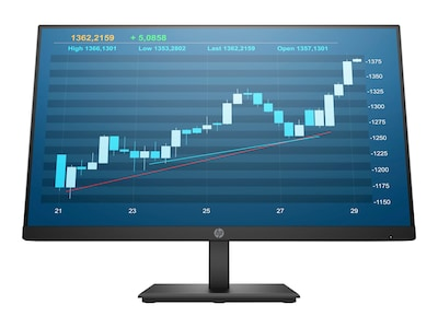 HP 23.8 P244 Full HD LED-LCD Monitor, Black, 5QG35A8#ABA, 36945903, Monitors
