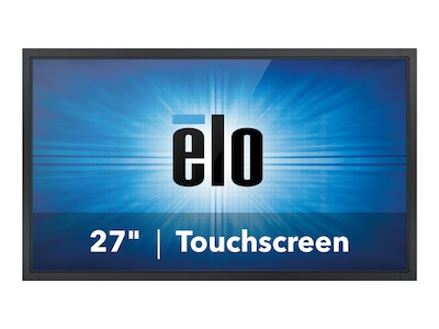 ELO Touch Solutions 27 2794L Full HD LED-LCD IntelliTouch Touchscreen Monitor, Black, E329262, 34207755, Monitors - Touchscreen