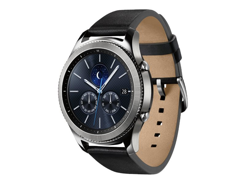 Samsung Gear S3 Classic, Silver, SM-R770NZSAXAR, 33828875, Wearable Technology