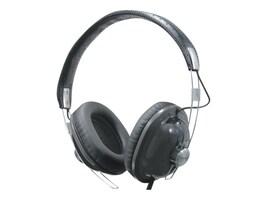 Panasonic Old School Monitor Stereo Headphones, Black, RP-HTX7-K1, 8729226, Headphones