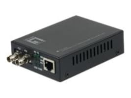 CP Technologies Level One FVT-2002 10 100Base-TX To 100Base-FX MMF ST Converter 2KM, FVT-2002, 17065943, Network Transceivers