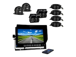 Pyle HD Multi-Camera DVR Video Recording Driving System 7, PLCMTRDVR46, 33114645, Security Hardware