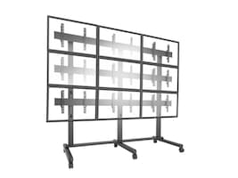 ViewSonic 3x3 Video Wall Mobile Cart for 42-46 Displays, WMK-075, 37042036, Monitor & Display Accessories - Video Wall