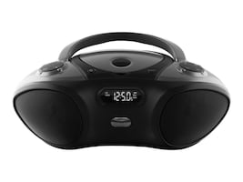 GPX Boombox w Built-In Bluetooth, IBC233B, 33214030, Portable Stereos