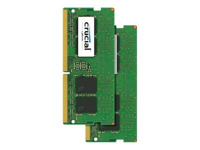 Crucial 8GB PC4-19200 260-pin DDR4 SDRAM SODIMM, CT8G4SFS824A, 31660968, Memory