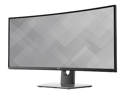Dell 34 U3417W WQHD LED-LCD Ultrawide Curved Monitor, Black, U3417W, 32582181, Monitors